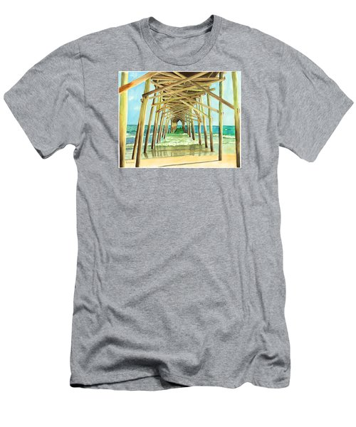 Coastal Cathedral  Men's T-Shirt (Athletic Fit)