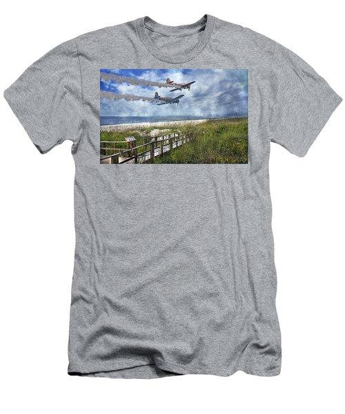 Coastal Flying Men's T-Shirt (Athletic Fit)