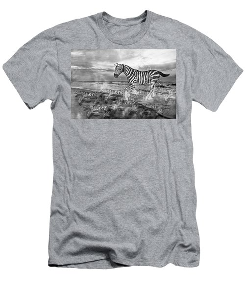 Coastal Stripes II Men's T-Shirt (Athletic Fit)