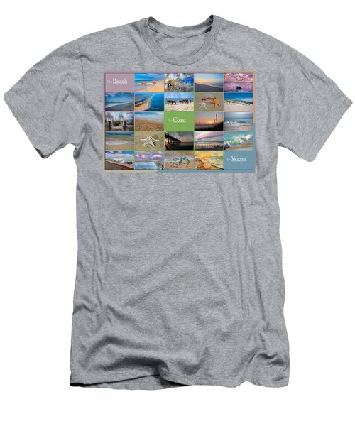 Coastal Winds Men's T-Shirt (Athletic Fit)