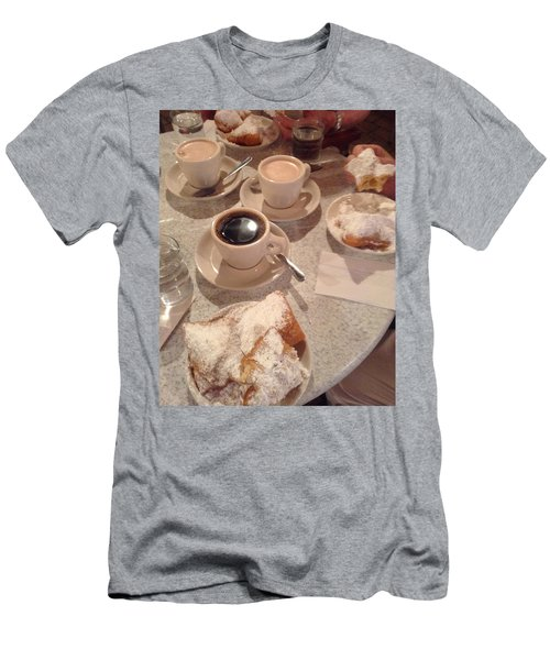Coffee And Beignets Men's T-Shirt (Athletic Fit)