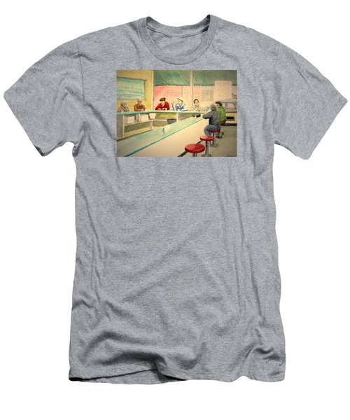 Coffee And Doughnuts Men's T-Shirt (Athletic Fit)