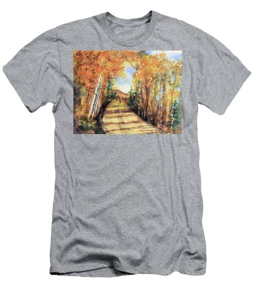 Colorado In September Men's T-Shirt (Slim Fit) by Debbie Lewis