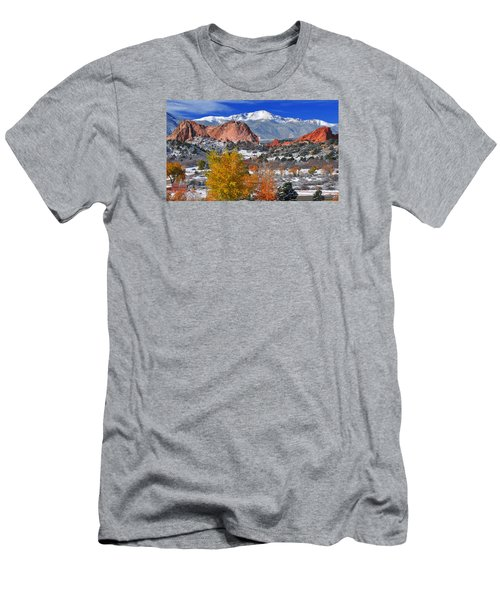 Colorful Colorado Men's T-Shirt (Athletic Fit)