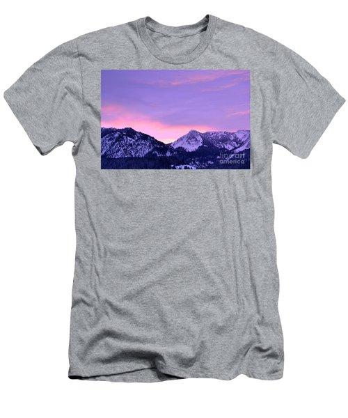 Colorful Sunrise No. 1 Men's T-Shirt (Athletic Fit)