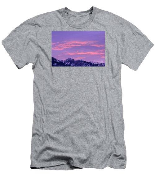 Colorful Sunrise No. 2 Men's T-Shirt (Athletic Fit)