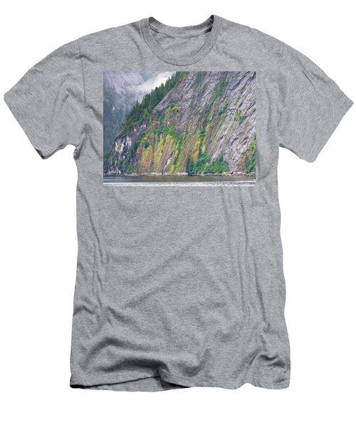 Colors Of Alaska - Misty Fjords Men's T-Shirt (Athletic Fit)