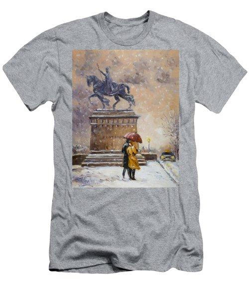 Colors Of Winter - Saint Louis Men's T-Shirt (Athletic Fit)
