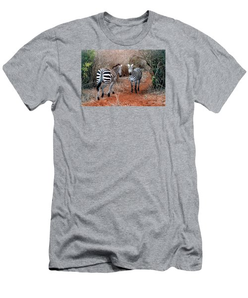 Men's T-Shirt (Slim Fit) featuring the photograph Coming And Going by Phyllis Kaltenbach