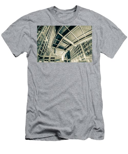 Men's T-Shirt (Slim Fit) featuring the photograph Complex Architecture by Alex Grichenko