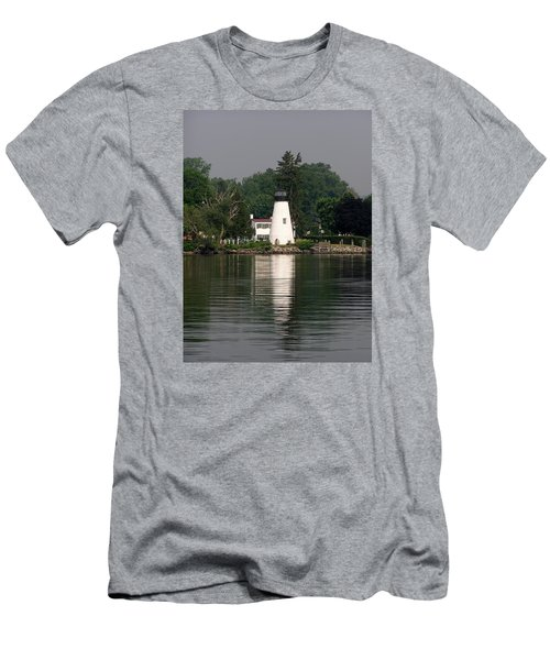 Concord Point Lighthouse Men's T-Shirt (Athletic Fit)