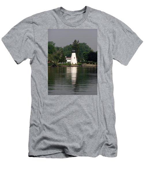 Concord Point Lighthouse Men's T-Shirt (Slim Fit)