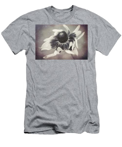 Coneflower In Monochrome Men's T-Shirt (Athletic Fit)