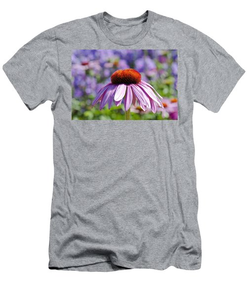 Men's T-Shirt (Slim Fit) featuring the photograph Coneflower by Lana Enderle
