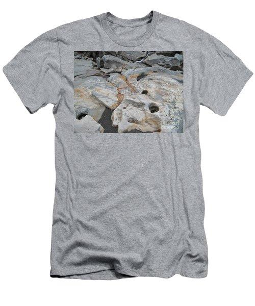 Connecticut River Bed Men's T-Shirt (Athletic Fit)