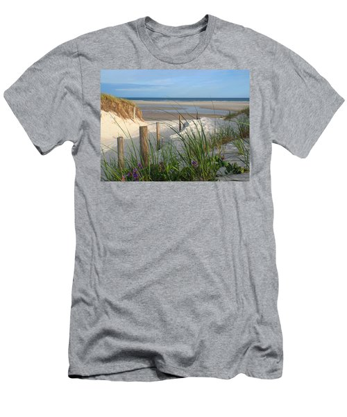 Men's T-Shirt (Slim Fit) featuring the photograph Cool Of Morning by Dianne Cowen
