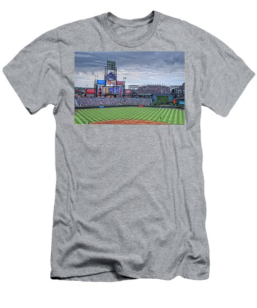 Coors Field Men's T-Shirt (Athletic Fit)