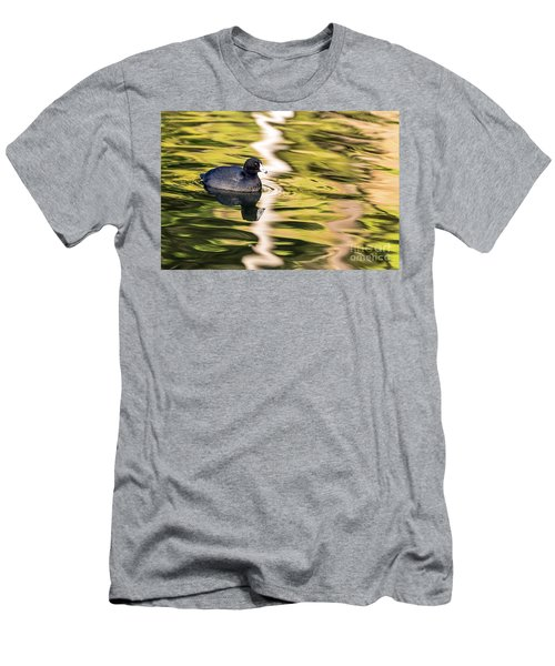 Coot Reflected Men's T-Shirt (Athletic Fit)