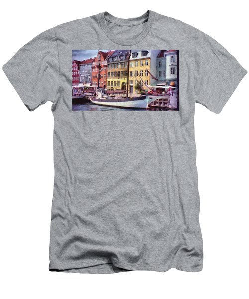 Copenhagen Men's T-Shirt (Slim Fit) by Jeff Kolker