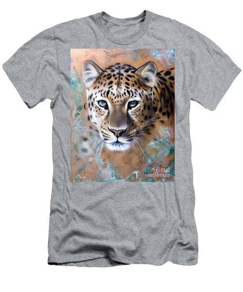 Copper Stealth - Leopard Men's T-Shirt (Athletic Fit)