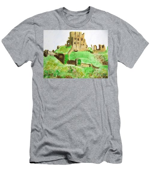 Corfe Castle Men's T-Shirt (Athletic Fit)