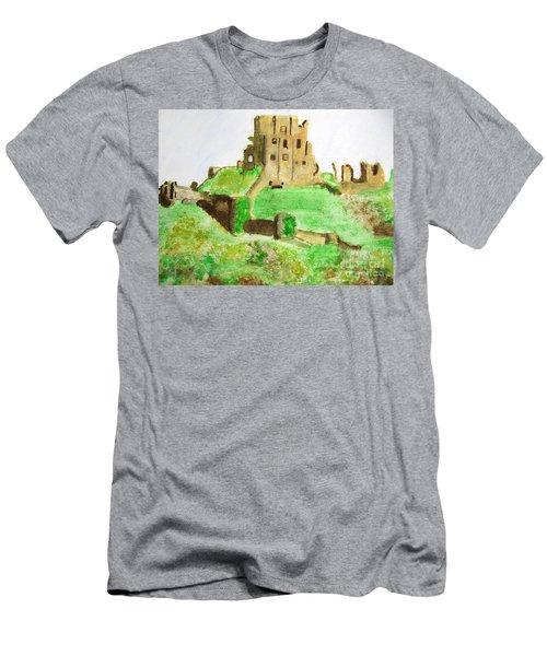 Corfe Castle Men's T-Shirt (Athletic Fit)