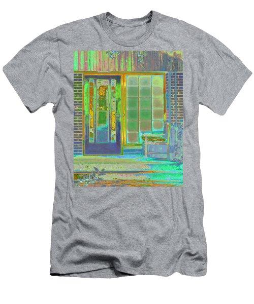 Cottage Porch Men's T-Shirt (Athletic Fit)