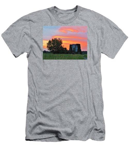Country Sky Men's T-Shirt (Slim Fit) by Cynthia Guinn
