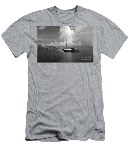 Men's T-Shirt (Slim Fit) featuring the photograph Cove  by Sergey Lukashin
