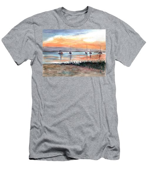 Cove Sunrise Men's T-Shirt (Athletic Fit)