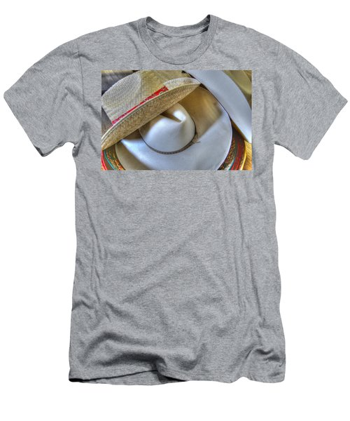 Cowboy Hats Men's T-Shirt (Athletic Fit)