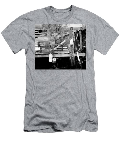 Crab Fishermans Still Life Men's T-Shirt (Athletic Fit)