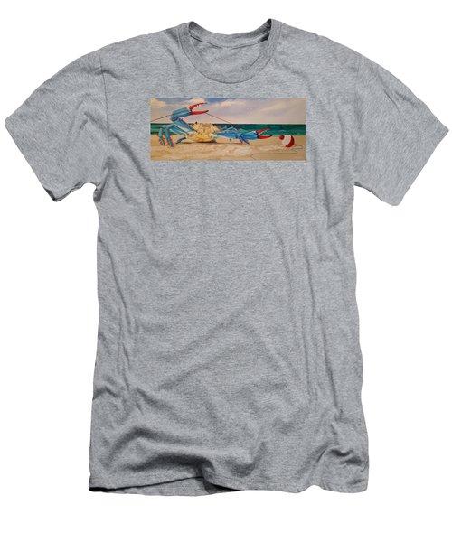 Crab Fishing Men's T-Shirt (Athletic Fit)