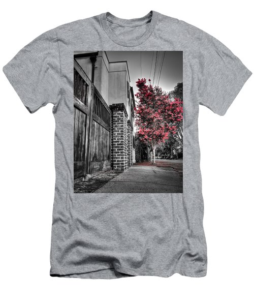 Crape Myrtles In Historic Downtown Charleston 2 Men's T-Shirt (Athletic Fit)