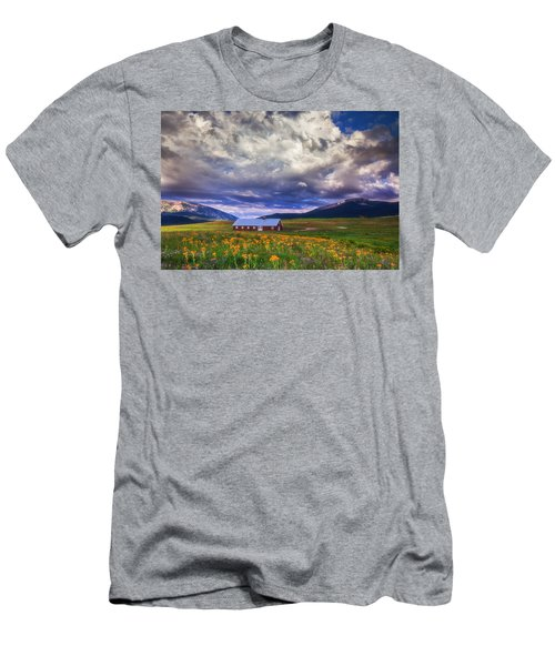 Crested Butte Morning Storm Men's T-Shirt (Athletic Fit)
