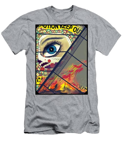 Crime Scene Men's T-Shirt (Athletic Fit)