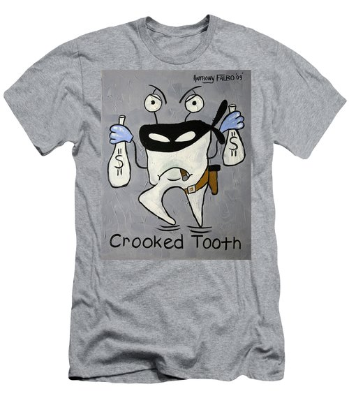 Crooked Tooth Men's T-Shirt (Athletic Fit)