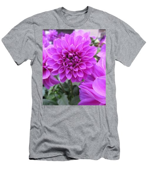 Dahlia In Pink Men's T-Shirt (Athletic Fit)