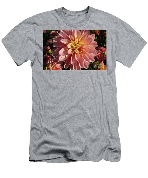Dahlia October Men's T-Shirt (Slim Fit) by Susan Garren