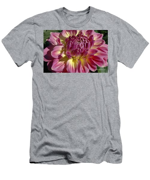 Men's T-Shirt (Slim Fit) featuring the photograph Dahlia Vii by Christiane Hellner-OBrien