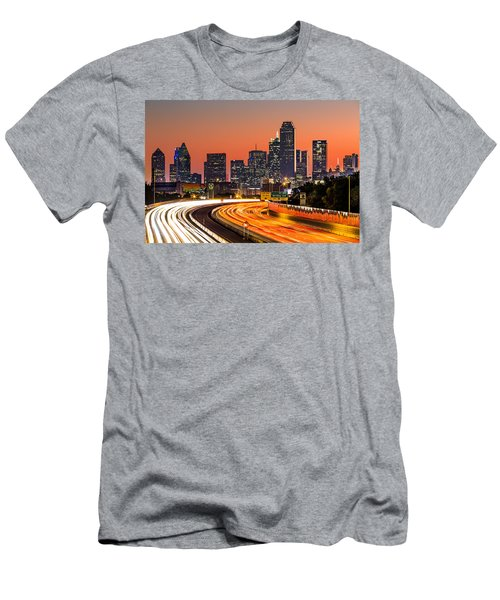 Dallas Sunrise Men's T-Shirt (Athletic Fit)