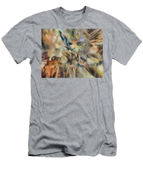 Men's T-Shirt (Slim Fit) featuring the digital art Dancing Dreams by Joe Misrasi