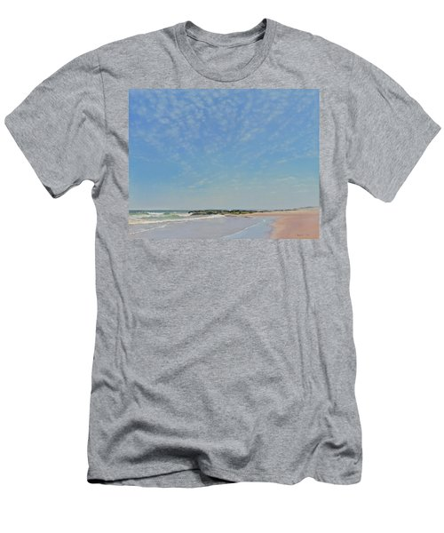 Dancing Sky In April Men's T-Shirt (Slim Fit)