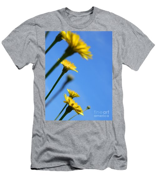 Dancing With The Flowers Men's T-Shirt (Athletic Fit)