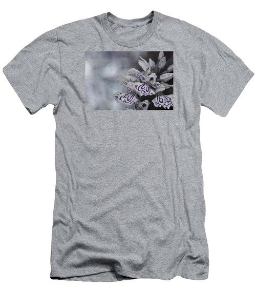Dark Angel Of Flowers Men's T-Shirt (Athletic Fit)