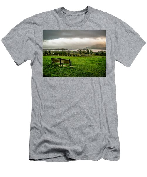 Dark Clouds Over Killarney Lakes Men's T-Shirt (Athletic Fit)