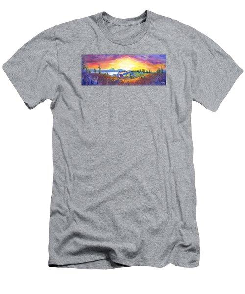 Dark Star Orchestra Dillon Amphitheater Men's T-Shirt (Slim Fit) by David Sockrider