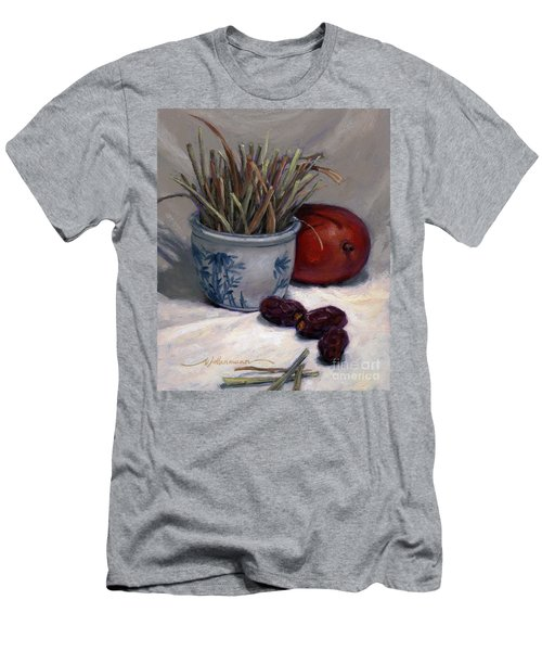 Dates Lemongrass And Mango Men's T-Shirt (Athletic Fit)