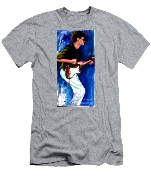 David On Guitar Men's T-Shirt (Athletic Fit)