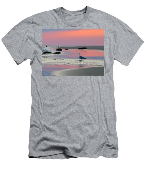 Men's T-Shirt (Slim Fit) featuring the photograph Dawn In Pink by Dianne Cowen